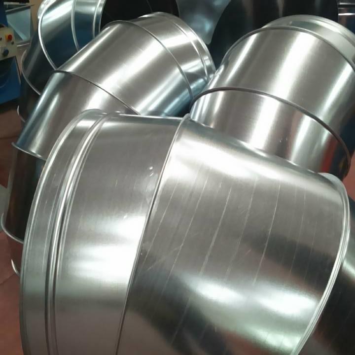 Condotte acciaio inox - curve